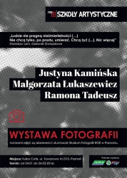 An exhibition of photographs!